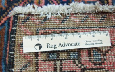 When It Comes To Rugs, Know More Than Your Customers