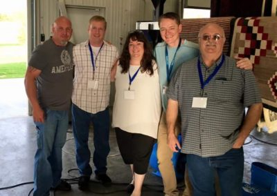 Cam Mayville, Cory McCook, Lynn Tall, Nathan Koets, Paul Lucas, Des Moines, IA