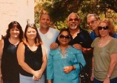Lynn Tall with Shannon & Anthony Belmonte, Mabel & Godwin Flores, and Amanda & Doug Moerschbacher, The Experience, Dallas, TX