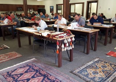 Rug ID written exam, Des Moines, IA