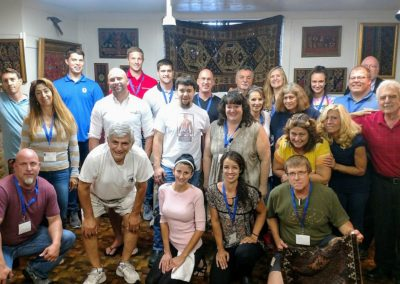 Rug Restoration Seminars Rug Repair Class at Shehady Oriental, Pittsburgh, PA 2017